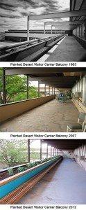 Balcony Phases 1963 / 2007 / 2012 (NPS Photos)