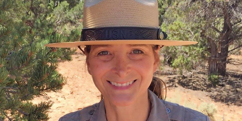Jeannine McElveen, Petrified Forest Superintendent